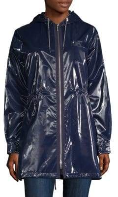 Jane Post London Shiny Metallic Parka
