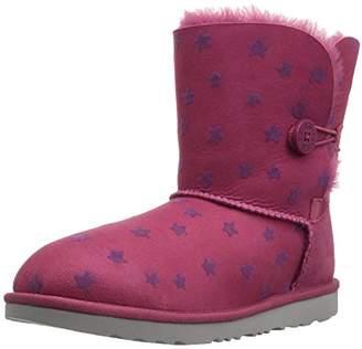 UGG Girls K Bailey Button II Stars Pull-on Boot