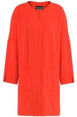 Moschino Crepe Coat