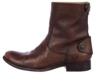 Frye Melissa Short Ankle Boots Brown Melissa Short Ankle Boots