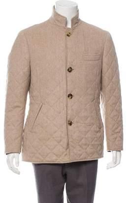 Brunello Cucinelli Quilted Cashmere Jacket