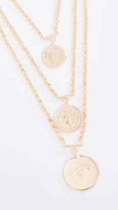 Bronzallure Vintage Coin Statement Necklace