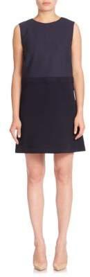 Lafayette 148 New York Luxe Italian Double Face Vilma Dress
