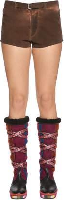 Etro Brushed Cotton Shorts