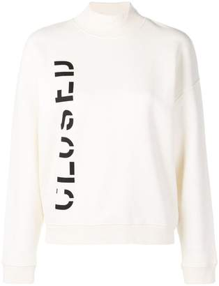 Closed branded sweater