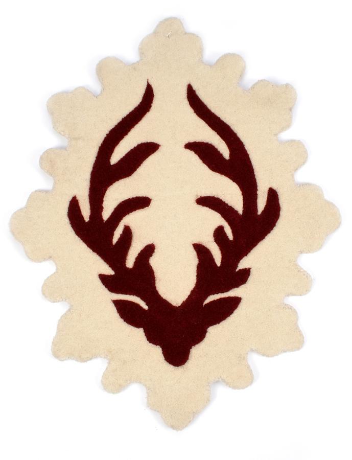Twinkle Living Deer Antlers Rug