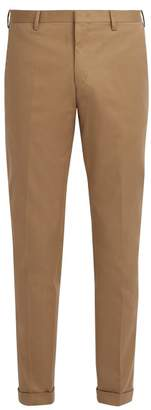 Paul Smith Cotton Chino Trousers - Mens - Beige