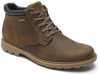 Rockport Rugged Waterproof Leather Ankle Boots