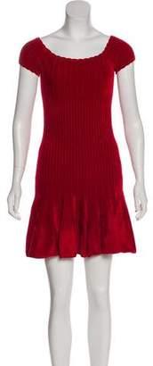 Ronny Kobo Velour Mini Dress w/ Tags