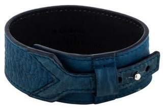 Saint Laurent Leather Wrap Bracelet