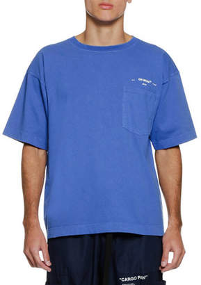 Off-White Men's 80s Vintage Pocket T-Shirt