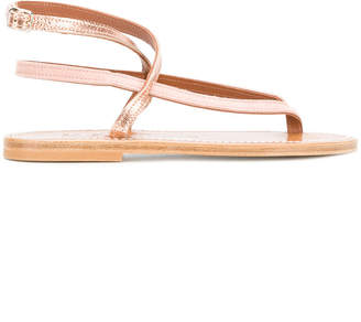 K. Jacques strappy t-bar sandals