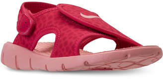 Nike Little Girls' Sunray Adjust 4 Sandals from Finish Line