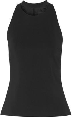 Cushnie et Ochs - Cutout Stretch-crepe Top - Black $775 thestylecure.com