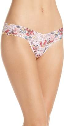 Hanky Panky Blanche Flower Low Rise Thong