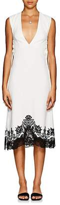 Derek Lam Women's Crepe & Guipure Lace Sheath Dress