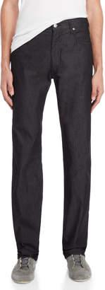 Armani Jeans Black J31 Regular Fit Jeans