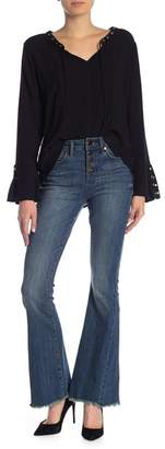 Seven7 High Rise Flare Jeans