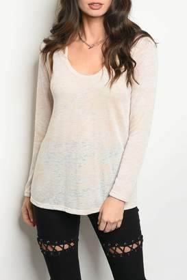 Sweet Claire Lightweight Oatmeal Top