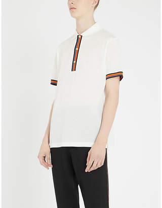 Paul Smith Contrast-trim cotton-piqué polo shirt