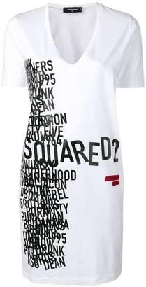 DSQUARED2 print T-shirt dress