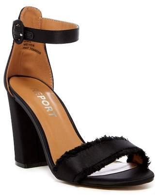 Report Meyer Satin Block Heel Sandal