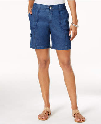 Style&Co. Style & Co Petite Cargo Bermuda Shorts, Created for Macy's