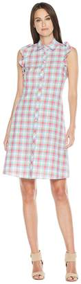 Kate Spade Madras Poplin Dress Women's Dress
