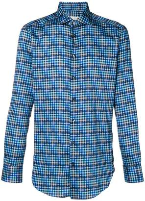Etro plaid slim-fit shirt