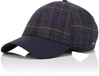 Barneys New York New Era XO Men's Plaid Herringbone Wool-Blend Baseball Hat