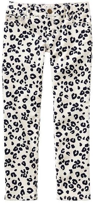 Gap 1969 Leopard Super Skinny Jeans
