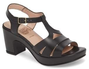Wonders Block Heel Platform Sandal