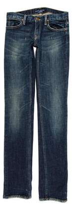 Denim & Supply Ralph Lauren Low-Rise Straight-Leg Jeans