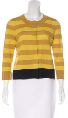 Akris Punto Wool Striped Cardigan