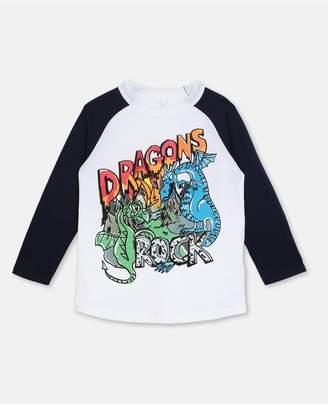 Stella McCartney Dragon Cotton T-Shirt