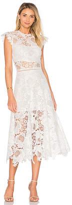Karina Grimaldi Doriane Crochet Dress