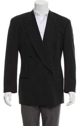 Giorgio Armani Virgin Wool Double-Breasted Blazer