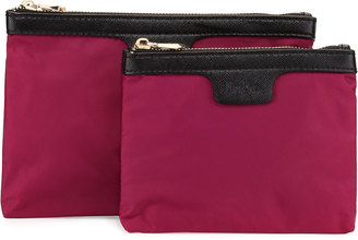 Neiman Marcus Ella Pouch Two-Piece Box Set, Plum $45 thestylecure.com