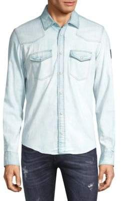 Belstaff Denim Button-Down Shirt
