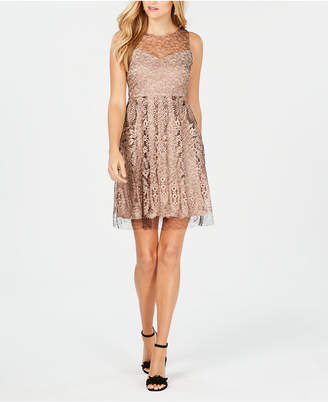 Taylor Lace Fit & Flare Dress