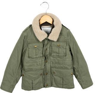 Burberry Boys' Down Utility Coat $290 thestylecure.com