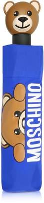 Moschino Hidden Teddy Bear Blue Umbrella