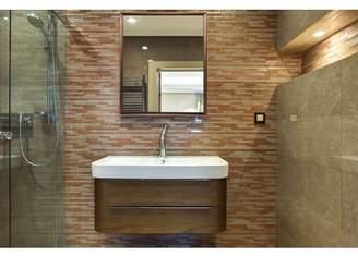 Nielsen Bainbridge Group 24x30 Brushed Bronze Aluminum Vanity Mirror, with 1 1/4 Wide Moulding