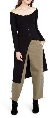 Rachel Roy Reflective Tuxedo Pants