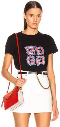 Givenchy Logo Tee in Black | FWRD