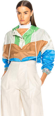 Etoile Isabel Marant Cyriel Color Blocked Raincoat