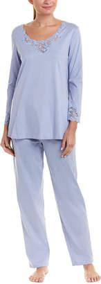 Natori 2Pc Pajama Pant Set