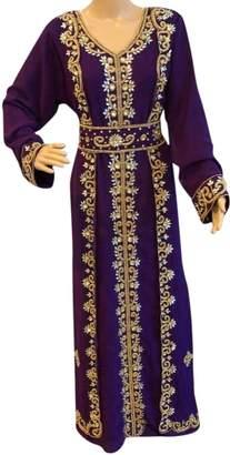 Dubai kaftan moroccan caftan takchita women's dress maxi wedding dress jalabiya