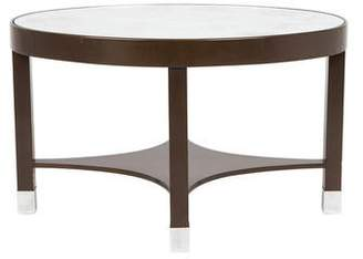 Oval Wood Side Table