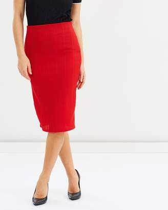 Dorothy Perkins Rib Pencil Skirt